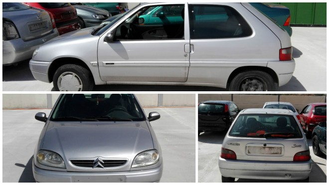 COLLAGE CITROEN SAXO