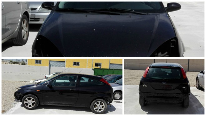 COLLAGE FORD FOCUS NEGRO