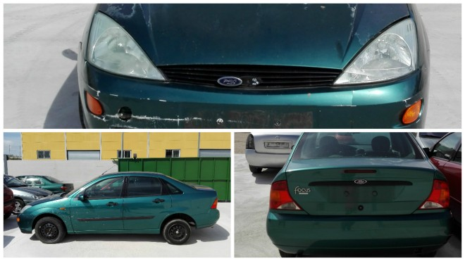 collage ford focus verde