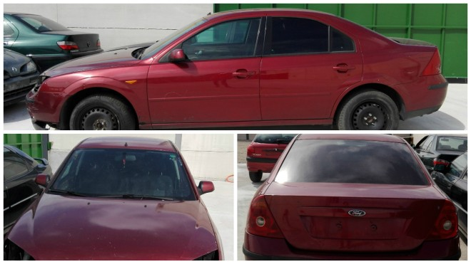 COLLAGE FORD MONDEO