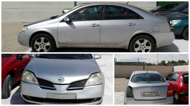 COLLAGE NISSAN PRIMERA