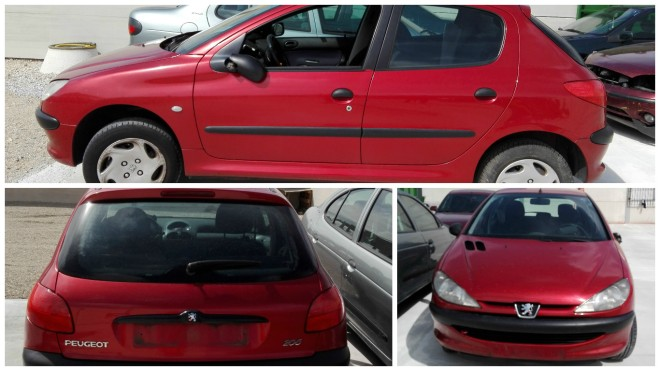 COLLAGE PEUGEOT 206