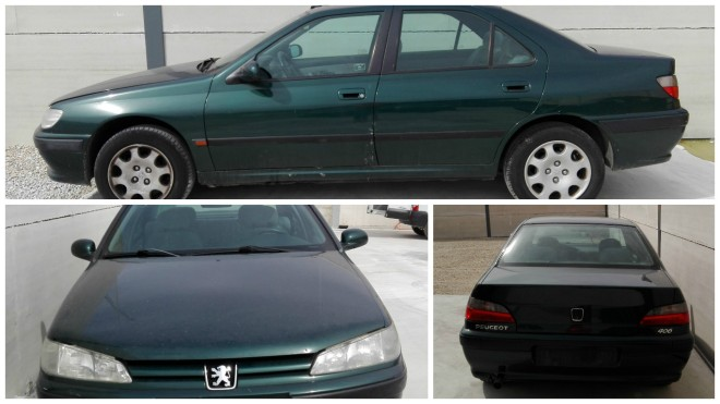 COLLAGE PEUGEOT 406