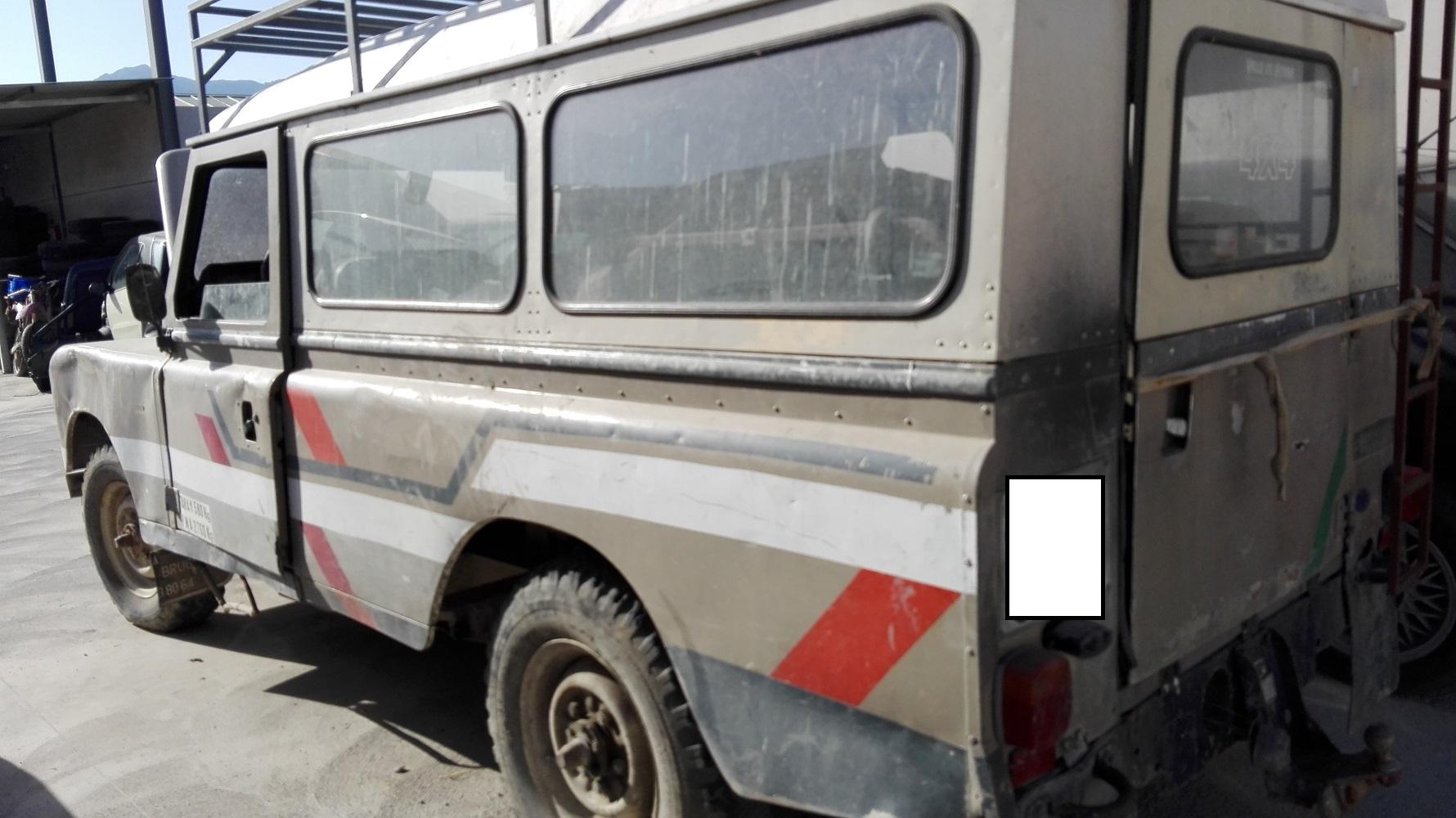 se vende despiece land-rover santana 109 – desguaces quesada